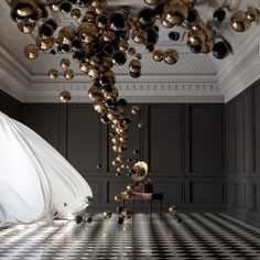 Balloon Concerto Gramophone – Federico Picci In this digital work of art, Florence, Italy-based graphic designer, illustrator and animator Federico Picci has managed to create an illusion of music in a physical form. There is a crystal-clear sense of feather-light movement as the spheres appear to billow up from the solitary, fixed gramophone . The …