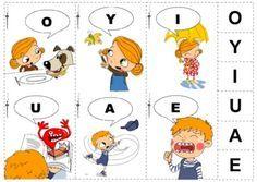 Samogłoski z Ryśkiem i Mi - Printoteka.pl Special Education Activities, Preschool Worksheets, Speech Therapy, Ebooks, Kids Rugs, Reading, Logos, Children, Anime