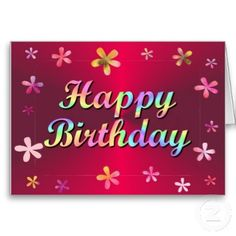 Birthday confetti card this card is perfect for anyone because it happy birthday cards for facebook happy birthday greeting cards on facebook m4hsunfo