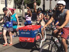 Los Angeles bookbike