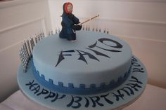 Kendo Fighter 30th Birthday Cake | Flickr - Photo Sharing!