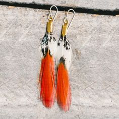 Fab.com | Feather and Leather Jewelry