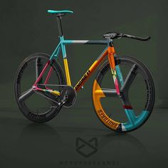 "5,263 Likes, 25 Comments - Cycling gear & accessories (@hizokucycles) on Instagram: ""#Repost from artist @motusoperandistudio - #fixedgear #fixie #brakeless #nobrakes…"""