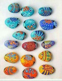 More fish rocks