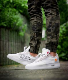 8256334681b Virgil Abloh OFF-WHITE x Nike the Ten Air Force 1 Low White White Sneakers