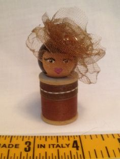 vintage spool doll