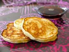Try these protein-packed and fluffy Cottage Cheese Pancakes to your family's day off right!