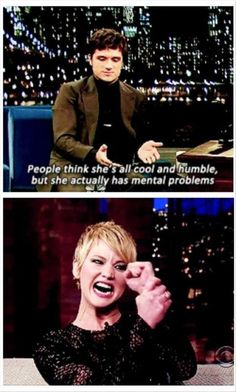 Ah... Jennifer Lawrence :)