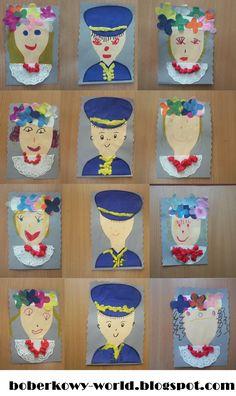 Pomysły na prace plastyczne, scenariusze zajęć dydaktycznych w przedszkolu, wiersze i opowiadania Malaga, Coasters, Diy Crafts, Education, Type 3, English, Photos, Pictures