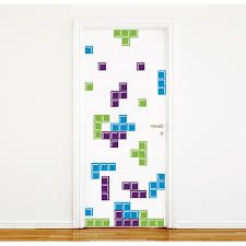 Resultado de imagen para VINILOS TETRIS 3D Tetris, Wall Design, Mini, Wall Decals, Nerdy, Projects, Html, 3d, Bedroom