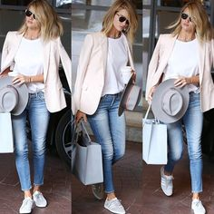 Casual chic #rosiehuntingtonwhiteley