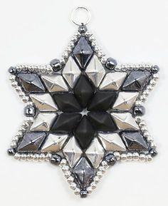 Deb Roberti's DiamonDuo Ornament & Pendant Pattern