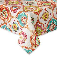 76f4d5a4ed98 Fiesta Ava Fabric Cloth Tablecloth x Oblong by Town   Country Living