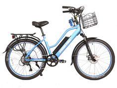 a9a512cd4cb X-Treme Catalina 48 Volt 500W 10.4 Ah Electric Bike Bafang Clutch Motor  70Mi Electric