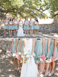 I like the color of the bridesmaid dress