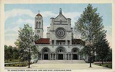 St. Agnes, Euclid Avenue Cleveland, O. (the campanile (bell tower ...
