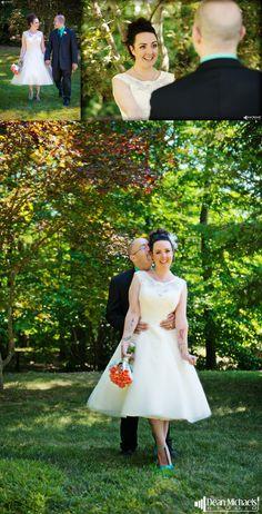 Cait & DJ's August 2015 #wedding at the Pinecliff Lake Community Club! | photo by deanmichaelstudio.com | #njwedding #newjerseywedding #summer #love #photography #DeanMichaelStudio