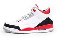 AIR JORDAN 3 (FIRE RED) - Sneaker Freaker