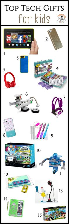 kids love technology so I've found tons of cool tech gifts for kids that are (mostly) educational and will make great gifts for the holidays!