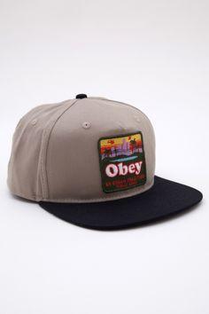 OBEY #Snapbacks #Fashion #Trends