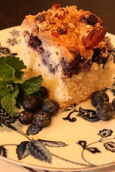 Blueberry Ricotta Coffeecake