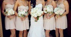 Cari Vaughn Photography! Light pink and tan vintage wedding
