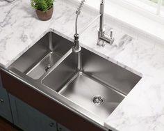 Polaris Sinks PR704 Offset Apron Sink