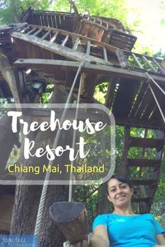 This unique tree house resort in Chiang Mai, Thailand, is a must for families with small children. Rabeang Pasak Treehouse is a unique hotel for solo travelers and couples as well. There are lots of things to do if you want to be adventurous, or you can just relax and get away from it all.  http://togetherinthailand.com/chiang-mai-treehouse-rabeang-pasak-resort/