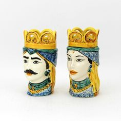 Vendita teste di Moro in ceramica