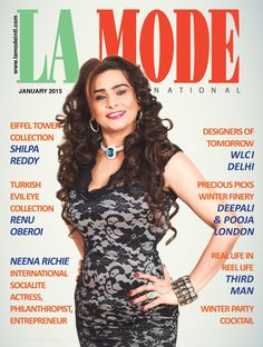 La mode International, Jan 2015 issue Print edition available on Demand. Visit us to see online emag on www.lamodeintl.com