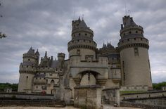 Chateau de Pierrefonds Castle  Merlin's castle.... I miss the series!!!