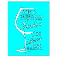 Stencil Jóia Taça de Vinho Frase JN 1575 - 19x23cm - Cod.:3486