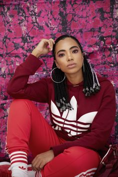 'We are people of color' - Trevor Stuurman and Amanda du-Pont drop visuals for new adicolor campaign - Between 10 and 5 Black Girl Braids, Girls Braids, Woman Movie, Nike, Protective Styles, Fashion Pictures, Urban Fashion, Sport, Black Girls