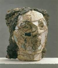Kopf einer jungen Frau, 1984, Foto: Klaus E. Göltz, Halle