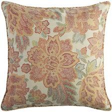 Floral Medley Mosiac Floral Oversized Pillow