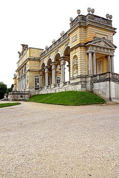 Schönbrunn Palace. Vienna Austria                                                                                                                                                                                 Mais