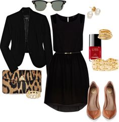 """""""Little Black Dress - My Style"""" by angela-reiss ❤ liked on Polyvore"""
