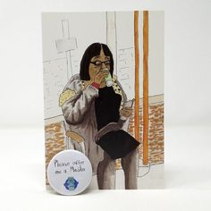 Diane Abbott TFL Greeting Card w/ Badge (Funny birthday card, labour party, friend birthday card, london underground, Conservatives) Birthday Cards For Friends, Funny Birthday Cards, Friend Birthday, Funny Greeting Cards, Funny Cards, Diane Abbott, Holiday Cards, Christmas Cards, Easy Writing