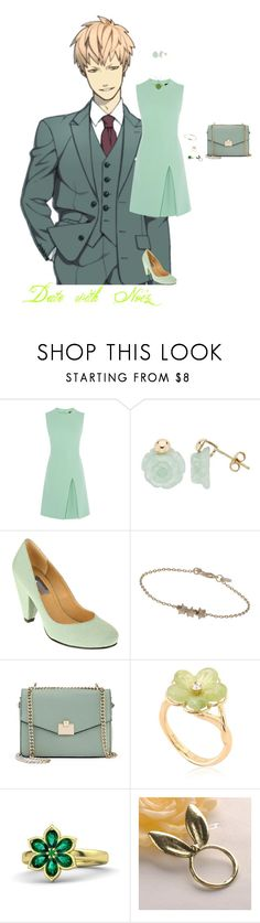 """Date with Noiz"" by itzelperaltadelacruz ❤ liked on Polyvore featuring Ice, UO, Miss Selfridge, Jennifer Lopez, Salvatore Ferragamo, Gemvara and Fit-to-Kill"
