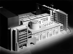 meier architecture canal plus Chinese Architecture, Modern Architecture House, Futuristic Architecture, Facade Architecture, Maquette Architecture, Modern Houses, Richard Meier, Richard Neutra, Butterfly Roof