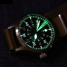 Steinhart Nav B II B-Type Pilot Watch Steinhart Watches mens luxury watch… Amazing Watches, Cool Watches, Steinhart Watch, Iwc Watches, Swiss Army Watches, Luxury Watches For Men, Mechanical Watch, Fashion Watches, Chronograph