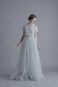 nice Alexandra Grecco Louise Lace Blouse and Lya Tulle Skirt. Bridesmaid Shirts, Wedding Bridesmaids, Wedding Gowns, Bridesmaid Dresses, Prom Dresses, Dance Dresses, Tulle Dress, Lace Dress, Tulle Skirts