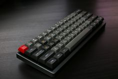 DSA Dolch, Poker II, TEX front-lipped aluminum  case anodized to gunmetal color.