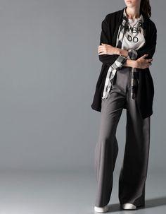 Pantalon habillé large