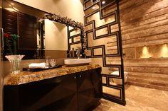 Interior Design by lasorogeekadubai on DeviantArt Dormitory, Rustic Interiors, Dubai, Massage, Essentials, Shelves, Deviantart, Interior Design, Mirror