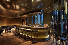 Bar 8 @ Mandarin Oriental - Paris - Agence En Place - Cocktails bar layout designed by Agence En Place. Station cocktail - Mise en place
