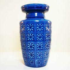 Scheurich Vase Mid Modernist  Space Age West German Pottery