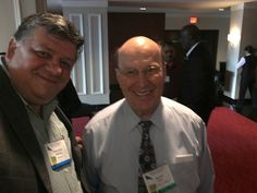 With Dr. Denton Lotz former General Secretary of the BWA in Vancouver @ the annual gathering.