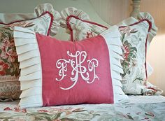 pillows - pleat ideas