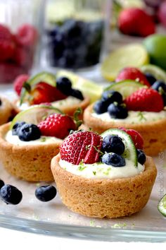 Easy Key Lime Cheesecake Sugar Cookie Cups | http://www.carlsbadcravings.com/easy-key-lime-cheesecake-sugar-cookie-cups-recipe/